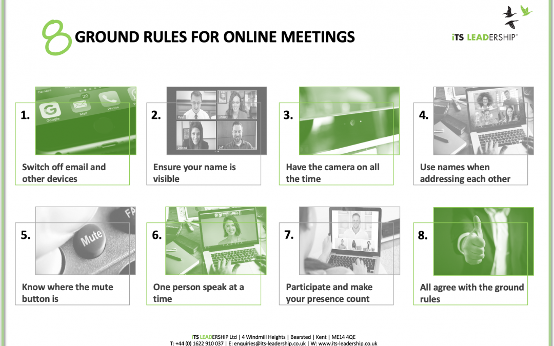 Quality isn't guaranteed. What can you do to raise the quality of your online meetings?